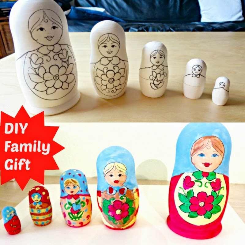 A DIY Gift that can be made by an entire family
