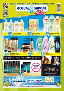 Promo risparmio acqua e sapone volantino dal 3 al 18 for Volantino acqua e sapone l aquila