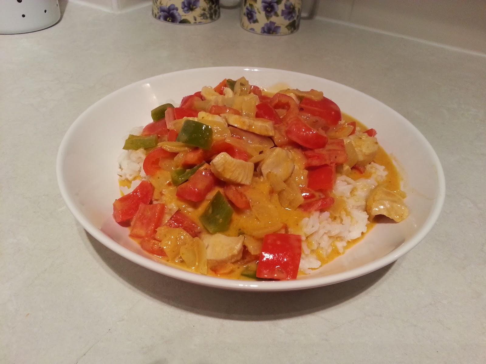 tajskie curry z mleczkiem kokosowym
