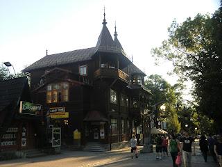 Centro de Zakopane, Polonia