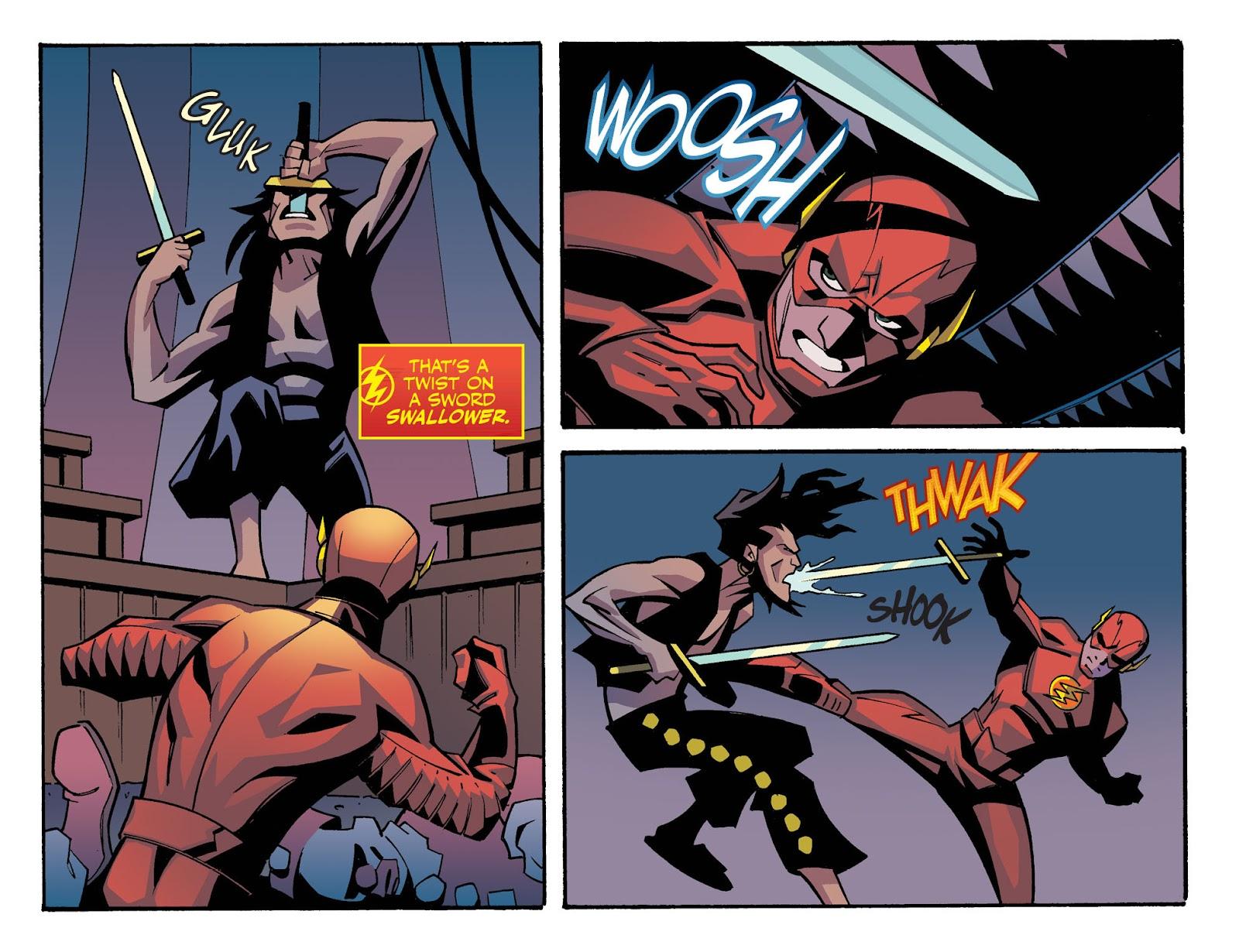 The Flash: Season Zero [I] Issue #4 #4 - English 11