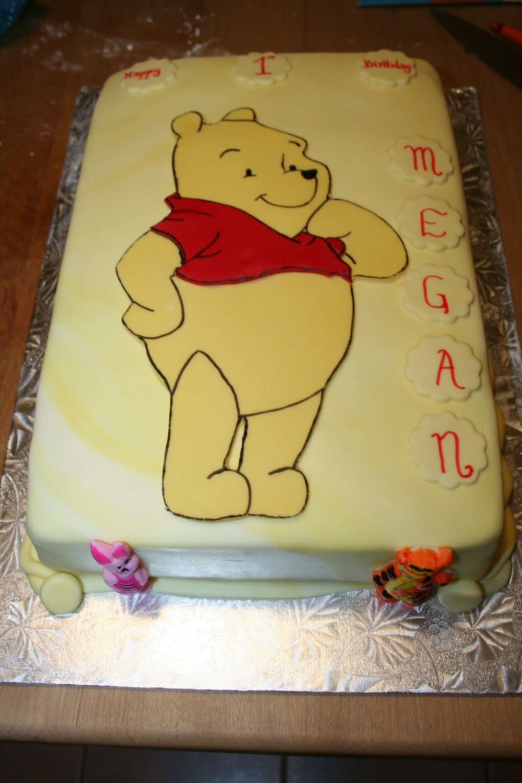 Happy 1st Birthday Megan Carpe Cakem Seize The Cake