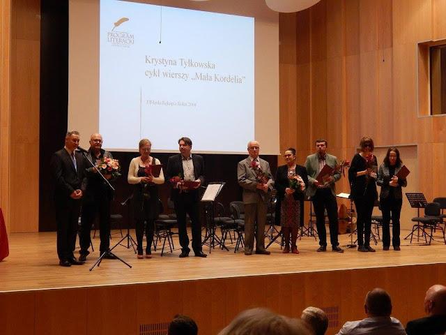Z gratulacjami... 13. Konkurs Literacki Fundacji Elbląg roztrzygnięty