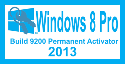Activate Windows 8 Permanently 2013