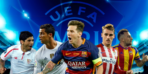 188ASIA - Spain set a record with five teams in the Champions League