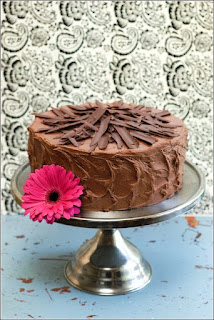 yum, chocolate cake!
