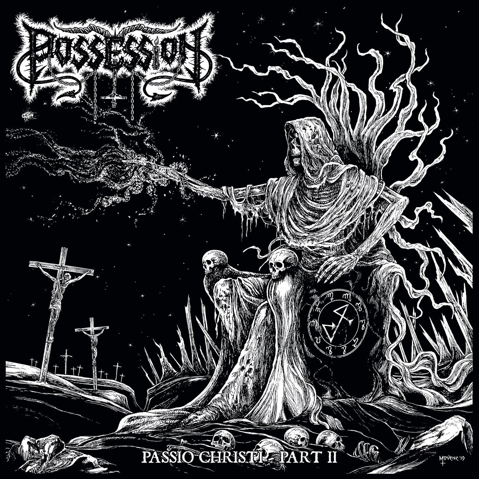 Possession, Spite & Venefixion - Passio Christi Part I + Part II - Press Release.