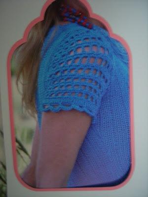 blau gestricktes kleid