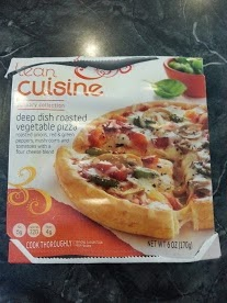 ... : Product Review - Lean Cuisine's Deep Dish Roasted Vegetable Pizza