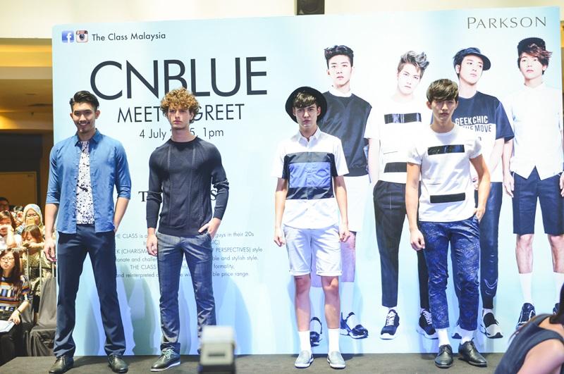 CNBLUE, THE CLASS, Butik, Malaysia, MidValley