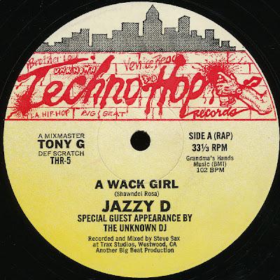 Jazzy D – A Wack Girl (1986, VLS, VBR)