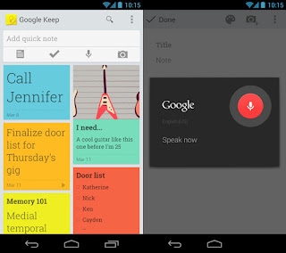 app android Google keep