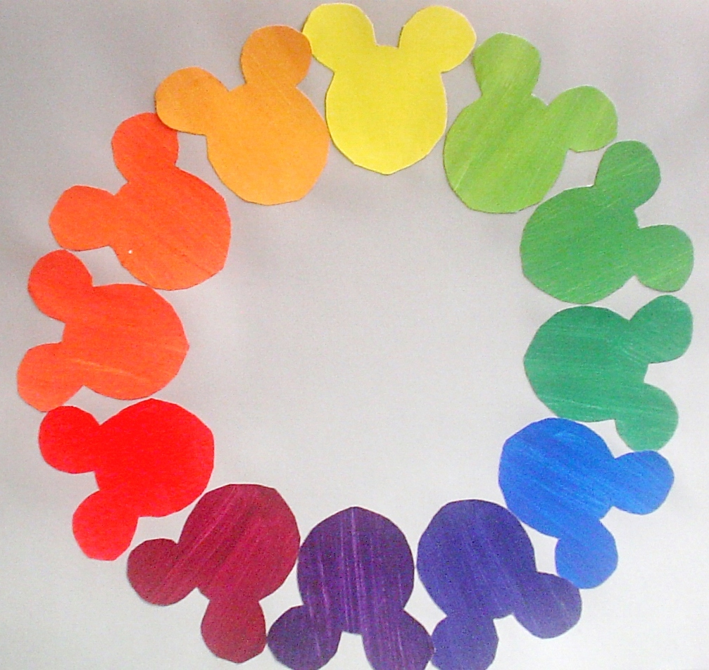 Creative Color Wheels 7th Grade Posted 13th November 2012 By Kate Eshelman