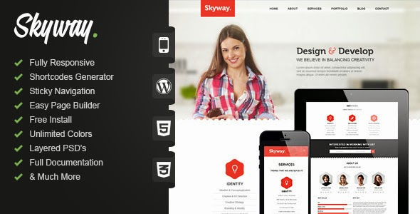 Best One Page WordPress Theme