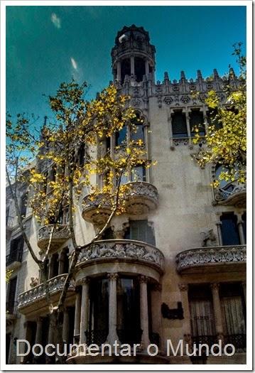 Casa Lleó Morera; Barcelona Modernista