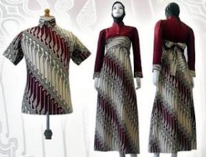 Baju+Gamis+batik Trend Model Baju Gamis Terbaru 2013