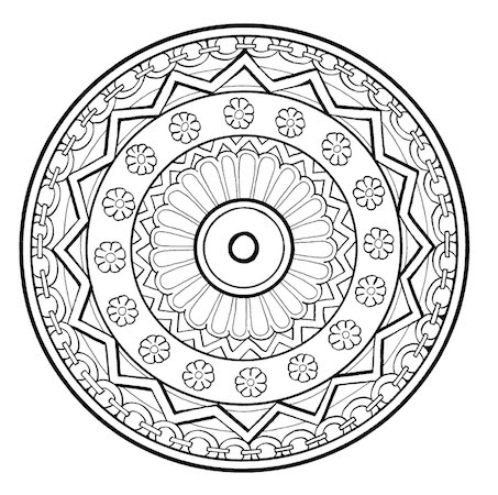For Coloring Adult Pattern Pages Mandala Meditation