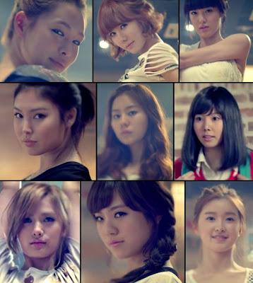 After School members Shampoo member screenshots