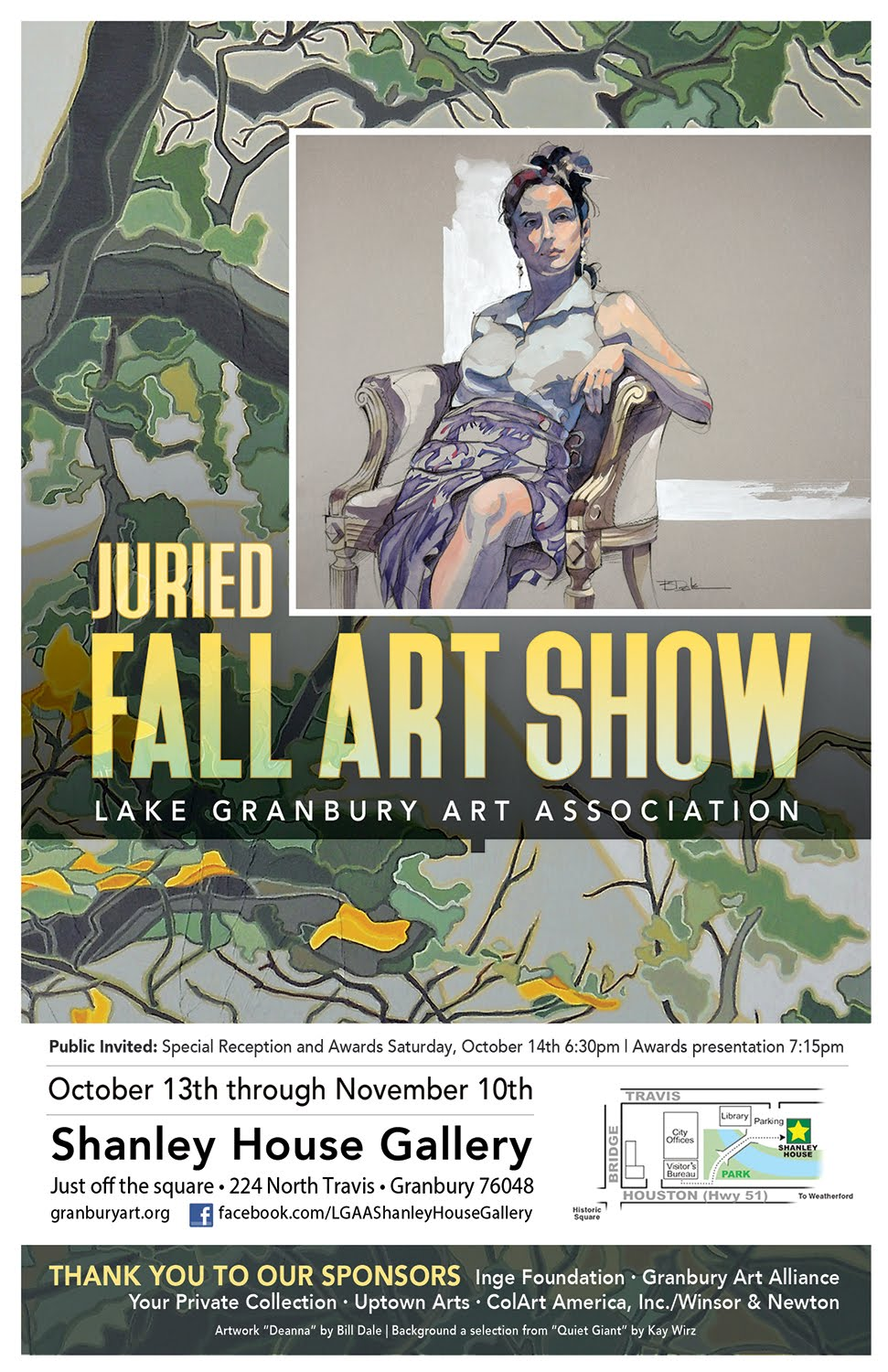 Fall Show Poster