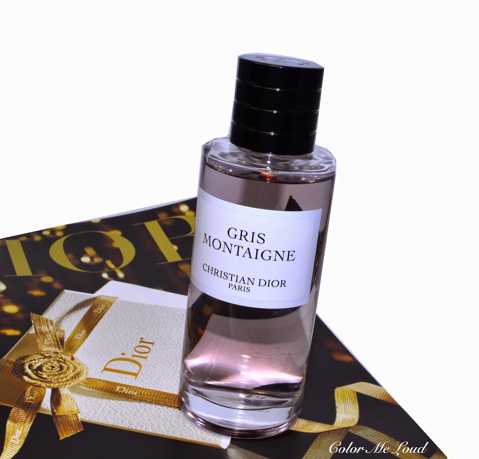 christian dior gris montaigne eau de perfum for collection priv e review color me loud. Black Bedroom Furniture Sets. Home Design Ideas