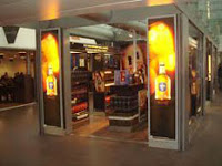 william grant's whisky shop at charles de gaulle airport
