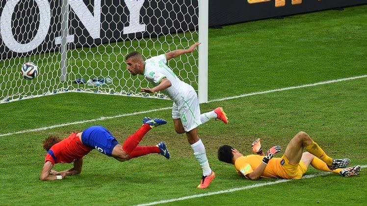 مشاهدة اهداف مباراة الجزائر و كوريا الجنوبية الأحد 22 يونيو/حزيران 2014