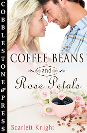 Coffee Beans and Rose Petals