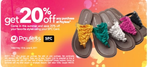 Payless Shoes Canada Coupon