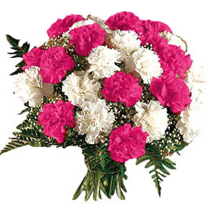 White Carnation Flower Arrangements