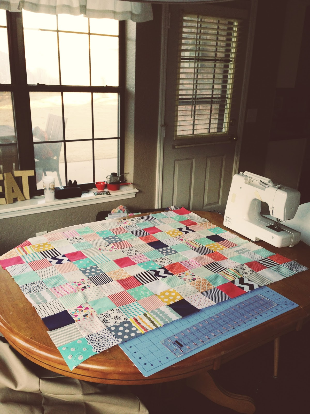 Muffins Marathons My Quilt For Baby Girl