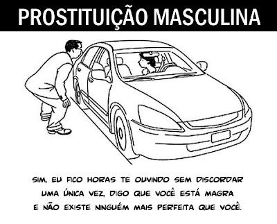 homem se prostituindo na noite