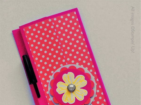 Flower Shop Covered Shopping List Pad - Perfect Gift