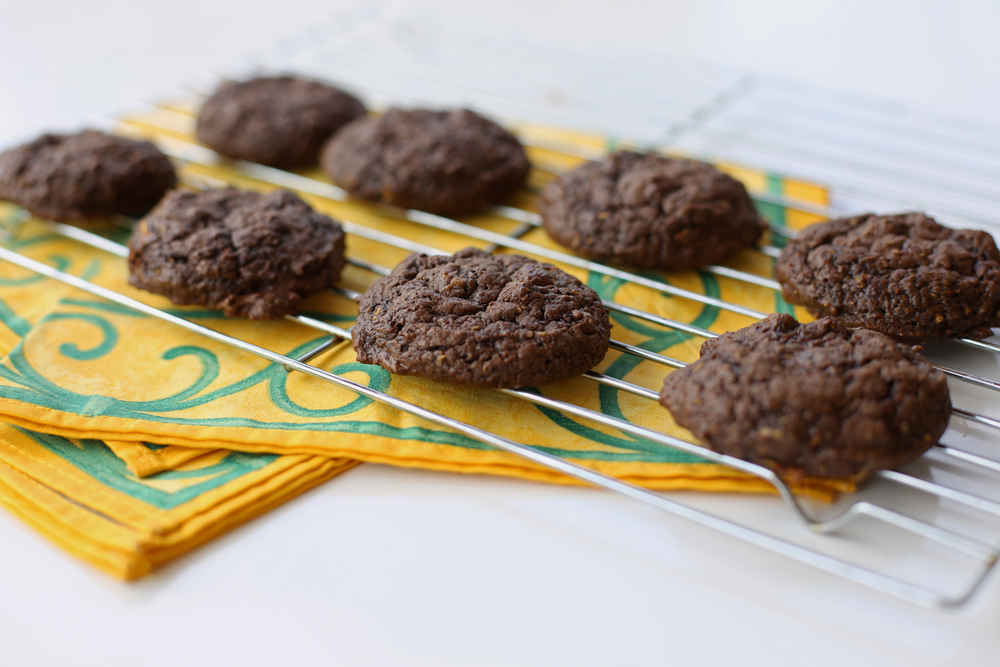 If you're looking to use up some zucchini, you won't find a more delicious way to do it than with these double chocolate cookies!