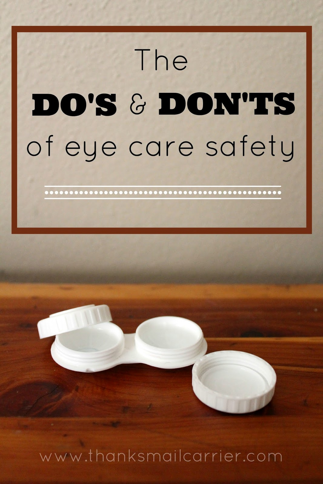 eye care safety