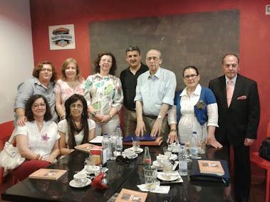 Visita a la Tertulia del poeta Ricardo Bermejo