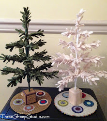 How To Make A Wool Feather Tree...