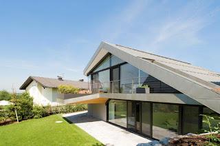 модерен покрив