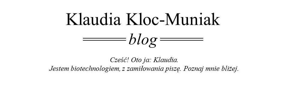 Klaudia Kloc-Muniak
