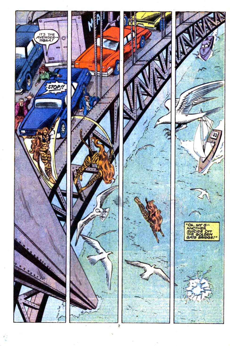 Captain America (1968) Issue #323b #252 - English 3