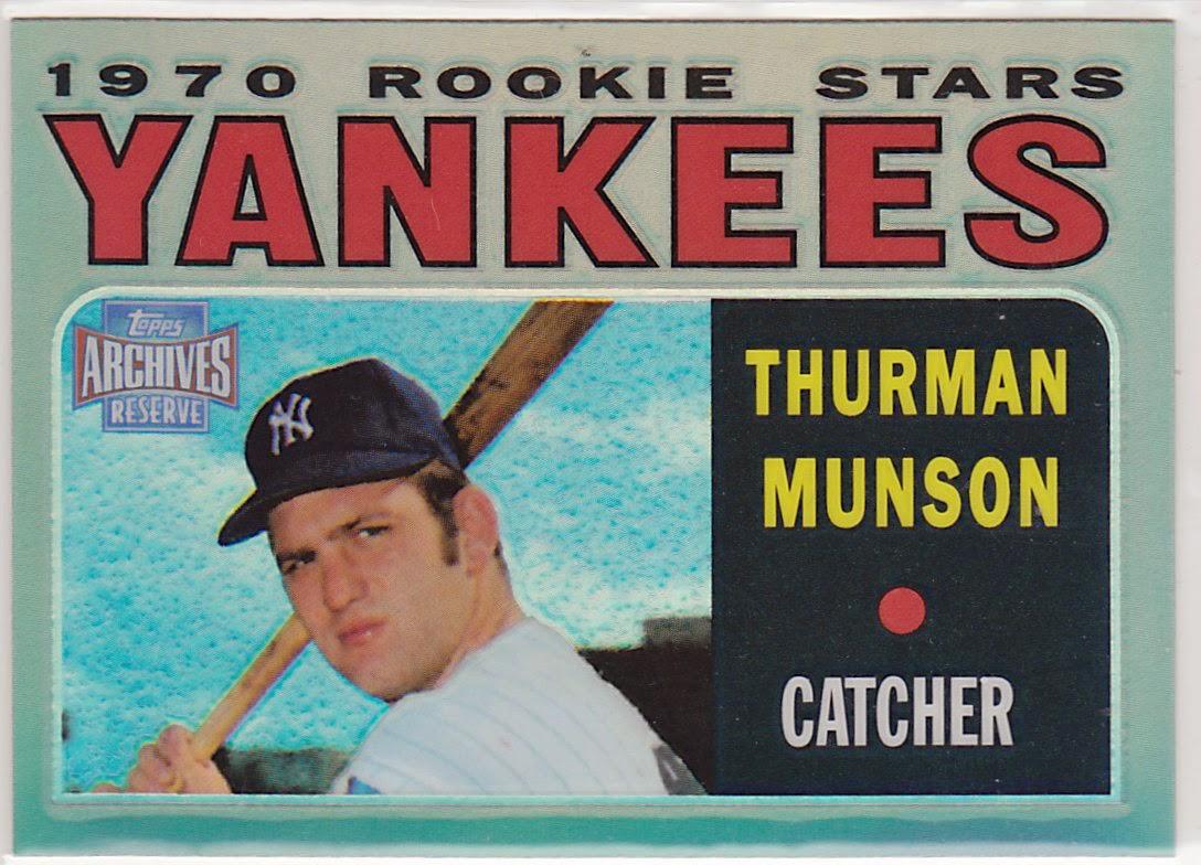Thurman Munson rookie card