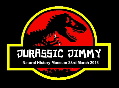 Jurassic Jimmy – London trip march 2013