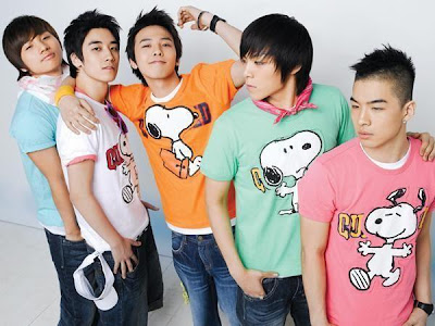 BIG BANG 빅뱅 KOREAN BOY BAND PROFILE UPDATES [K-POP]