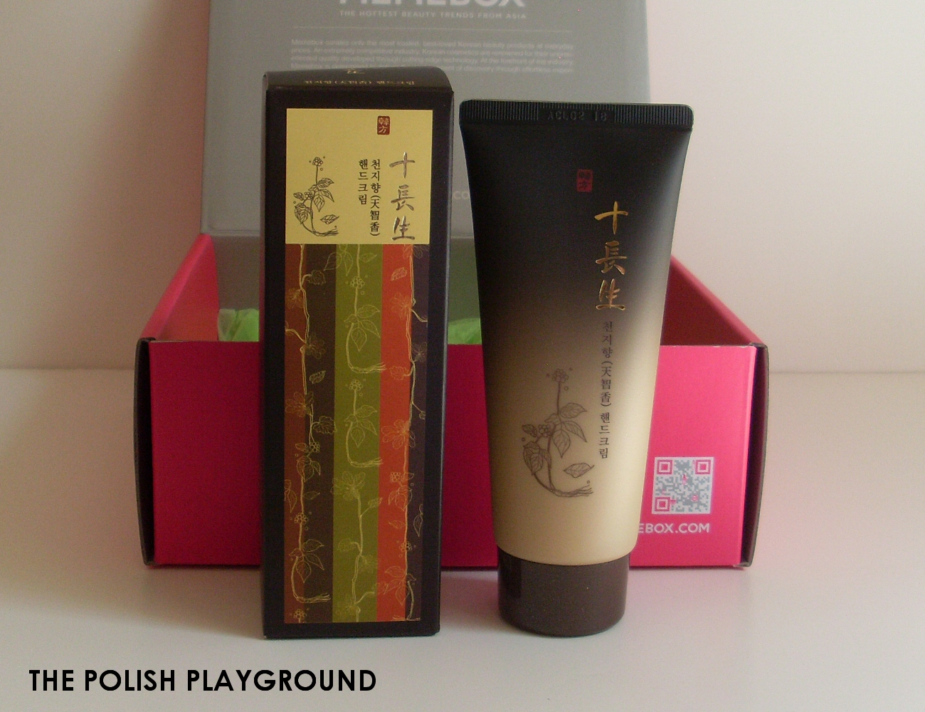 Memebox Special #8 Oriental Medicine Unboxing - Shib Jang Ceng Chun Ji Heang Hand Cream