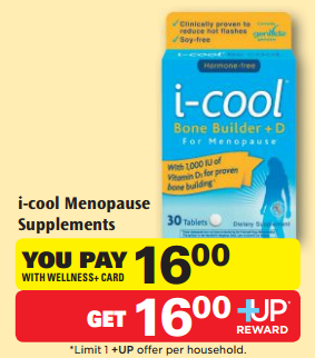 Cool menopause coupon
