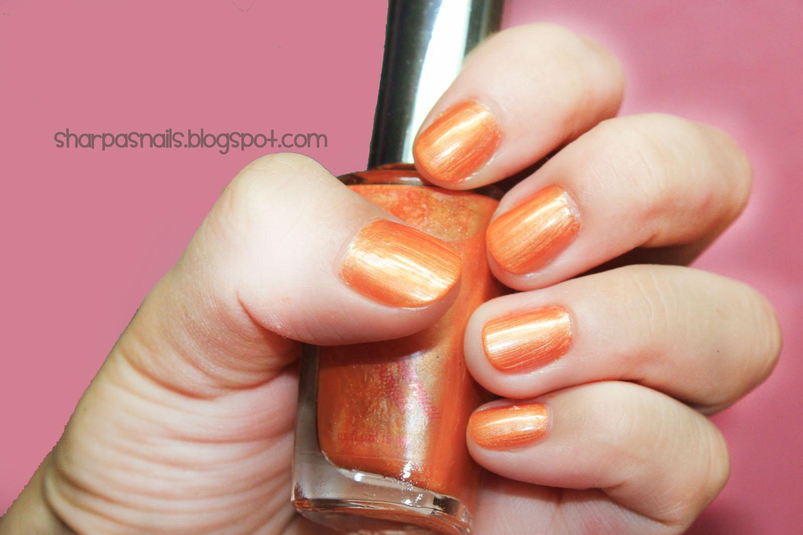 Sharp As Nails A Nail Art Blog Orange Nail Polish And Orange For