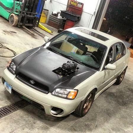 Daily Turismo: 5k: Wild Thing: 2000 Subaru Legacy GT ...
