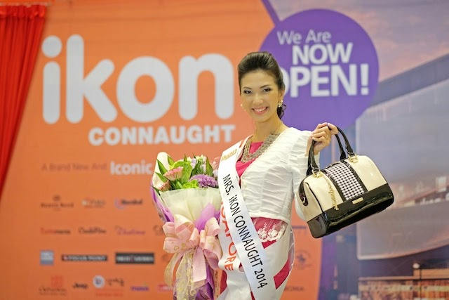 Mrs Singapore was chosen to be Mrs ikon Connaught 2014