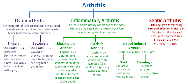 Type of Gout Arthritis