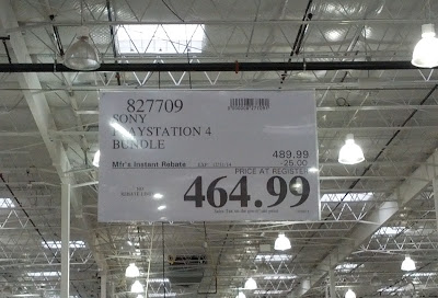 Sony PS4 for sale at Costco (Item 827709)