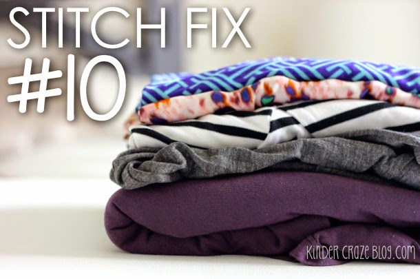 Check out this blogger's latest arrival from Stitch Fix… she bought it all!
